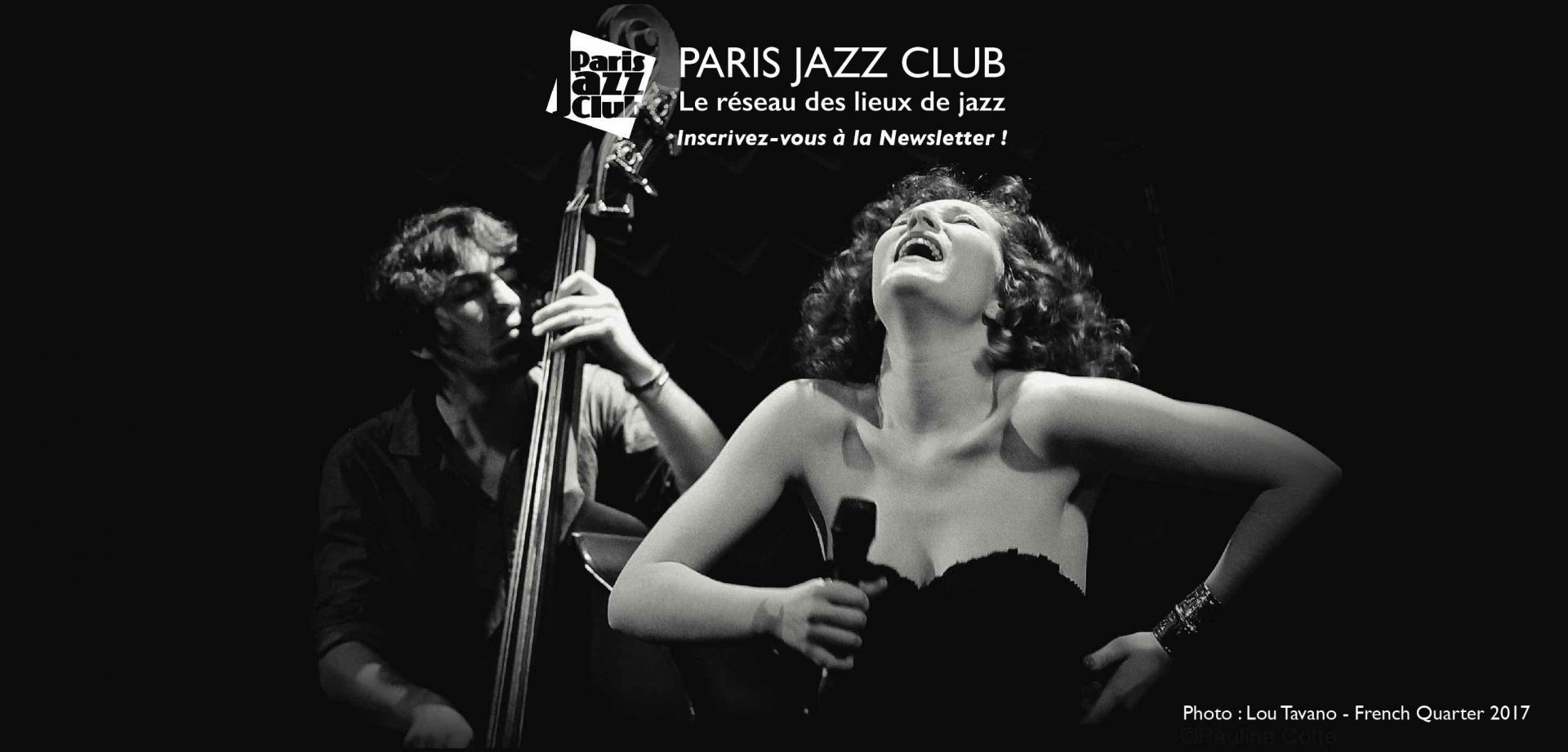 PARIS JAZZ CLUB's newsletter - 