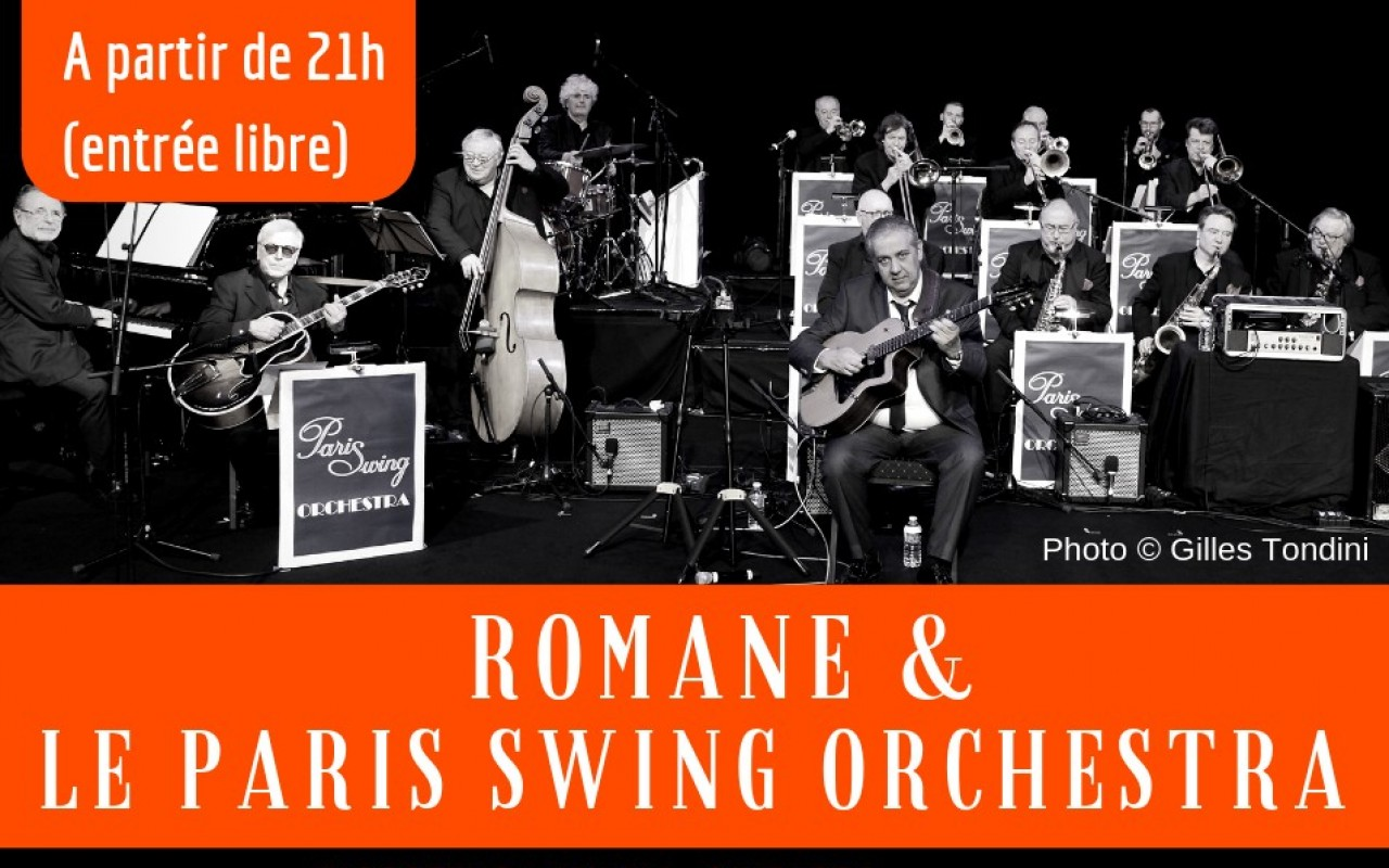 Romane & Le Paris Swing Orchestra - Photo : Gilles Tondini
