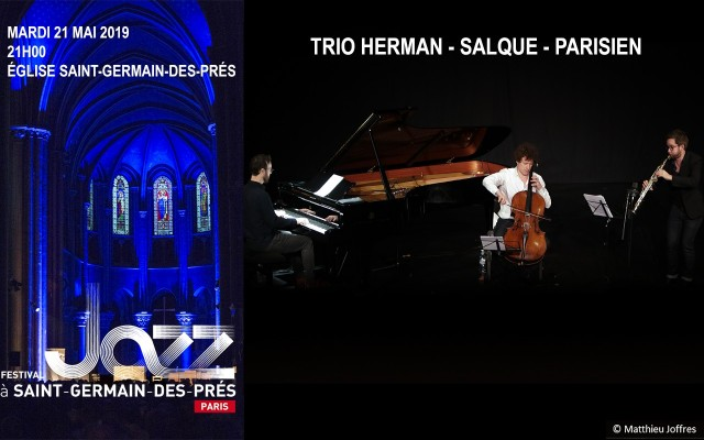 Trio Herman-Salque-Parisien - Three gifted creatord at the top of their game - Photo : Matthieu Joffres