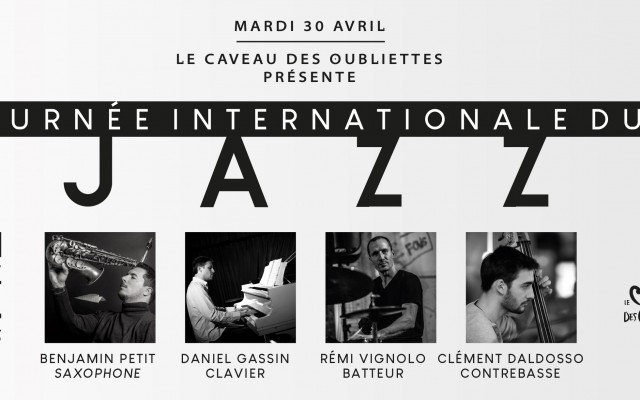 Concert Jazz, Jazz All Stars, Benjamin Petit 4Tet - 100% Jazz, 30 avril