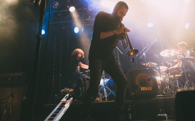 Avishai Cohen's Big Vicious - Photo : DR