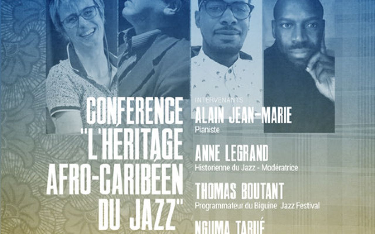 "The ""Afro-Caribbean Jazz Legacy"" Conference - International Jazz Day in Paris"