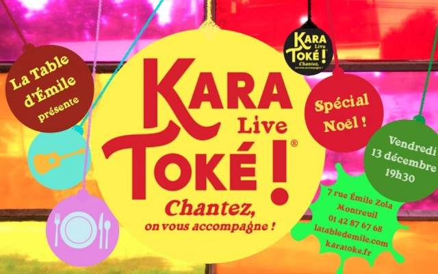 Christmas Karatoke - Let's sing ! They are with you !