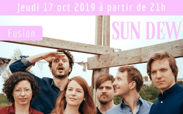 Sun Dew - Festival Jazz sur Seine 2019 - Photo : Felix Kayser