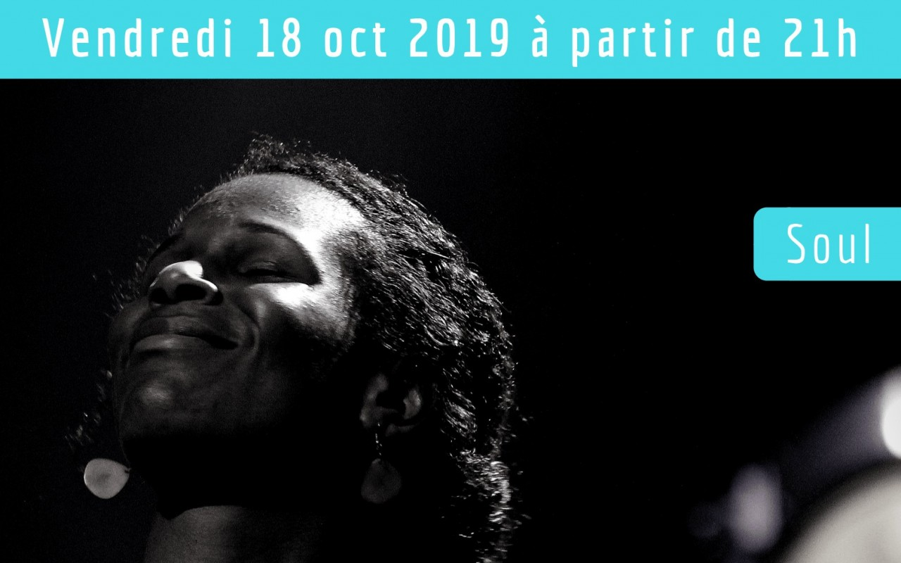 Hawa Sow And The Soul Seeders - Dans le cadre du Festival Jazz sur Seine 2019 - Photo : Arnaud ROUYER