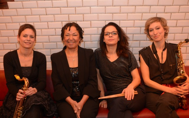 "Rhoda SCOTT ""Lady"" Quartet - Featuring Sophie Alour / Géraldine Laurent / Julie Saury - Photo : -philippe-marchin"