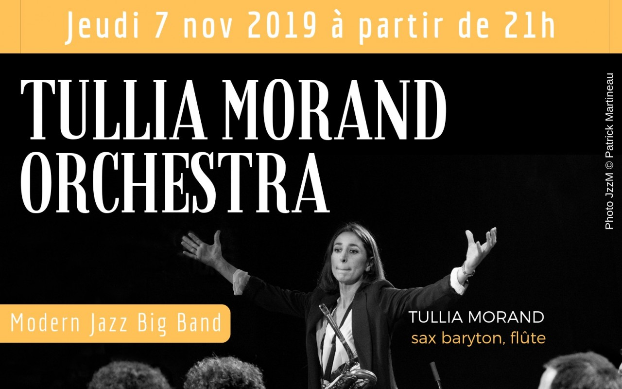 Tullia Morand Orchestra - Photo : Patrick Martineau - JzzM Photography