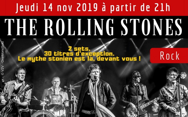 The Rolling Stones by Les Fortune Tellers - Photo : V2V