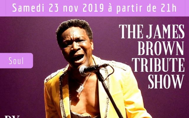 The James Brown Tribute Show by Allan Adote