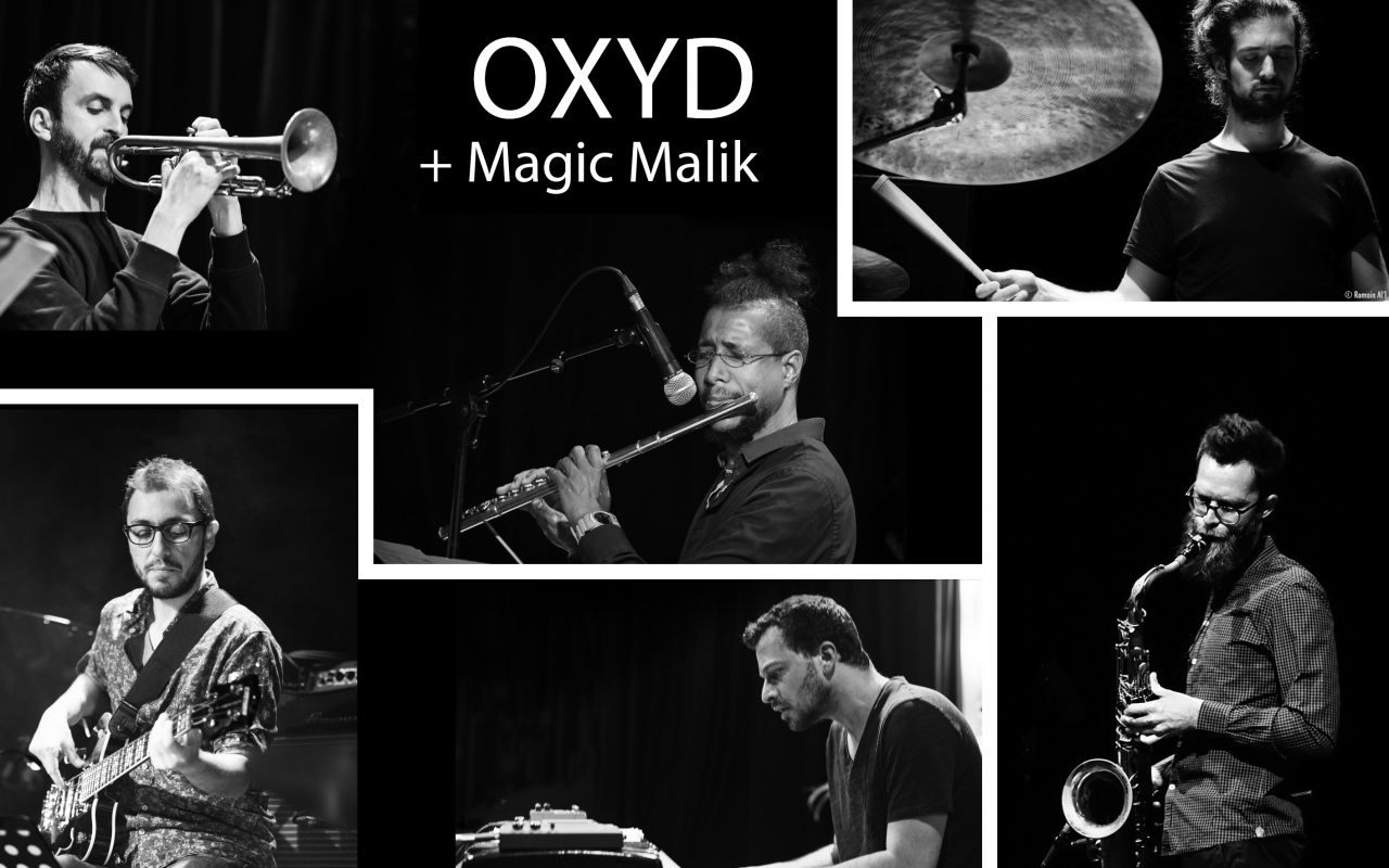 "OXYD + Magic Malik - ""The Lost Animals"" - Photo : Stephane Knibbe"