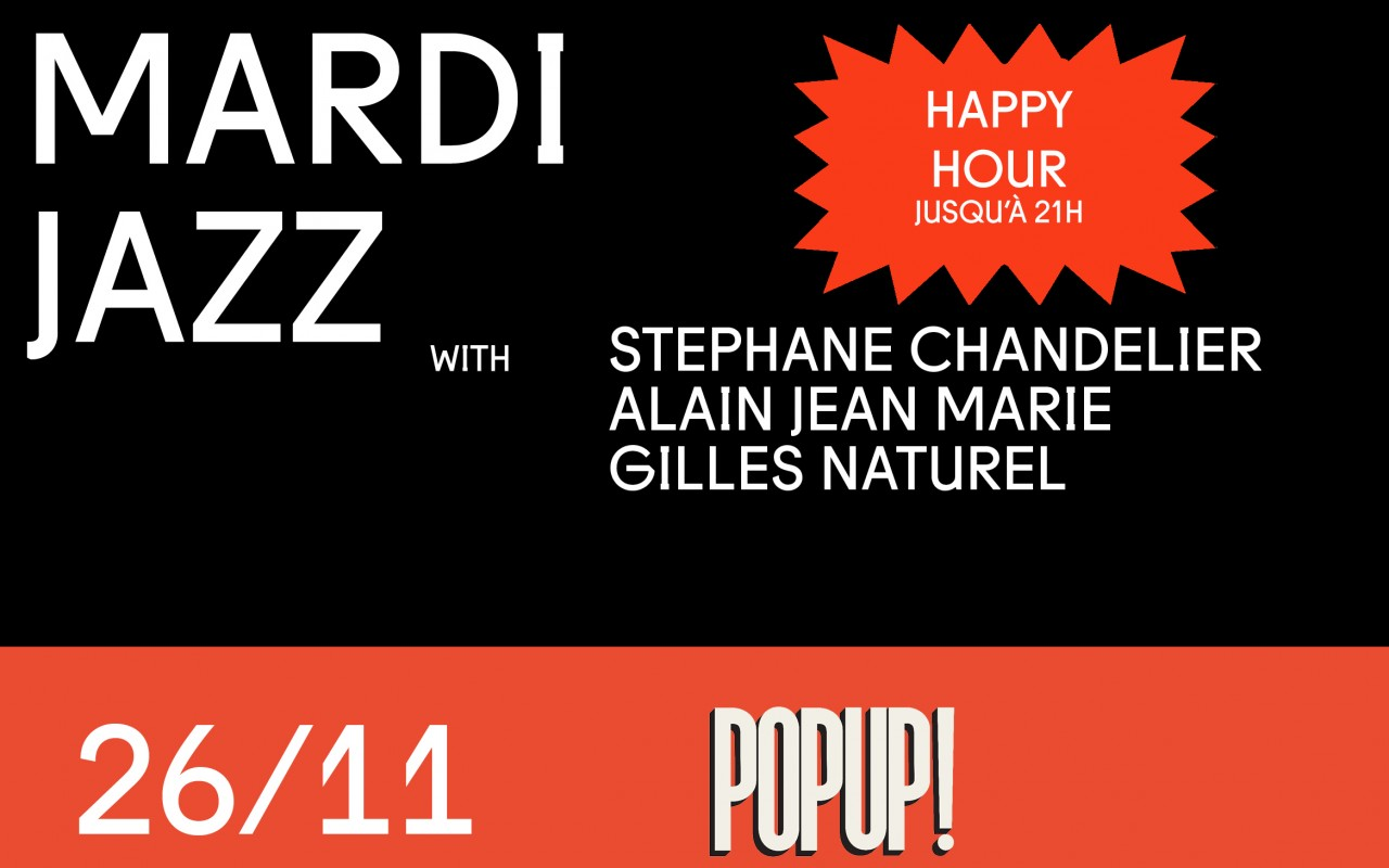 Mardi Jazz! Chandelier, Jean Marie, Naturel