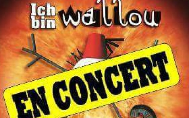 Live Rock Fusion, Ich Bin Wallou, Nov 22nd & 23rd - Live Rock Fusion