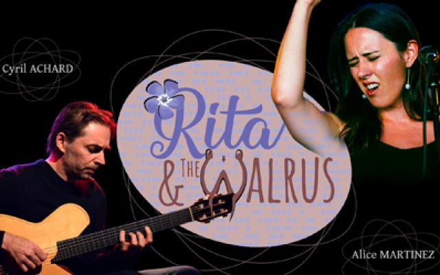 Duo Cyril Achard & Alice Martinez - Tribute to Beatles : Rita and The Walrus - Photo : DR