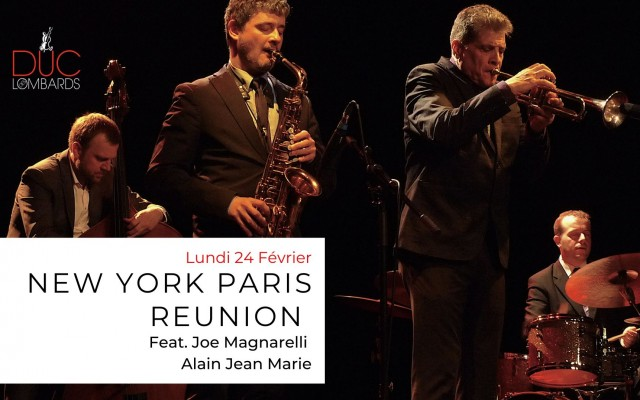New York - Paris Reunion Quintet - Feat. Joe Magnarelli & Alain Jean-Marie