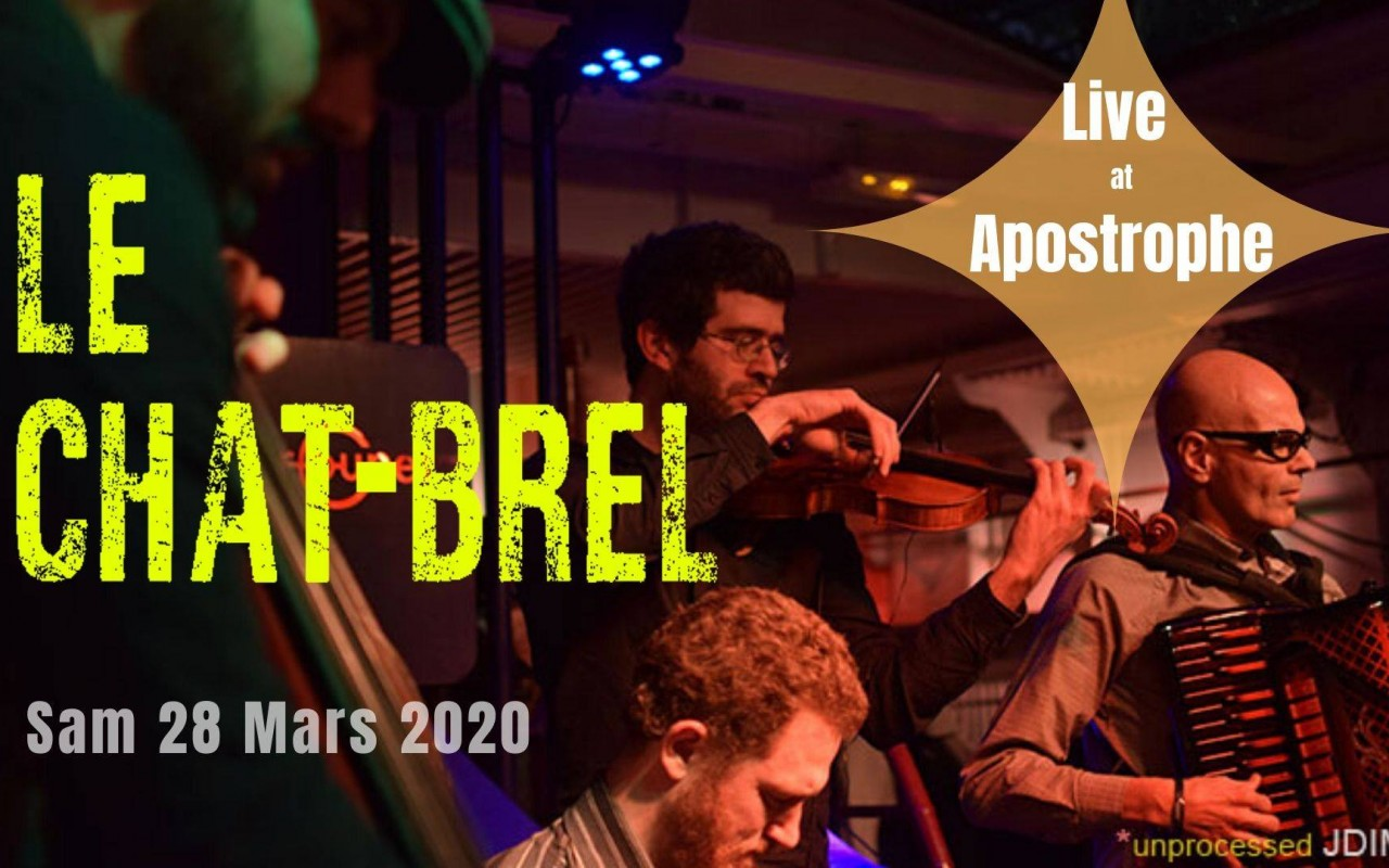 ANNULE Le Chat-Brel