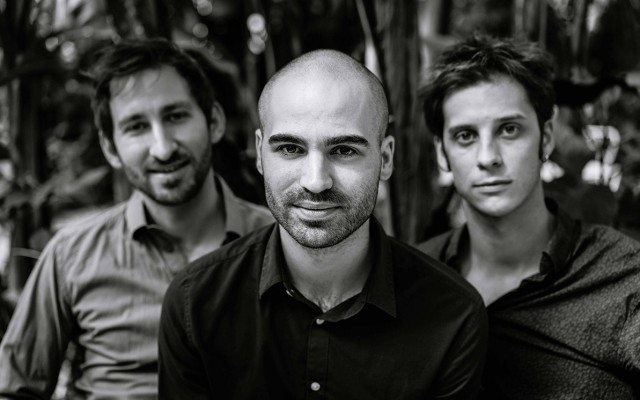 Florian Favre Trio - Photo : Nicolas Masson