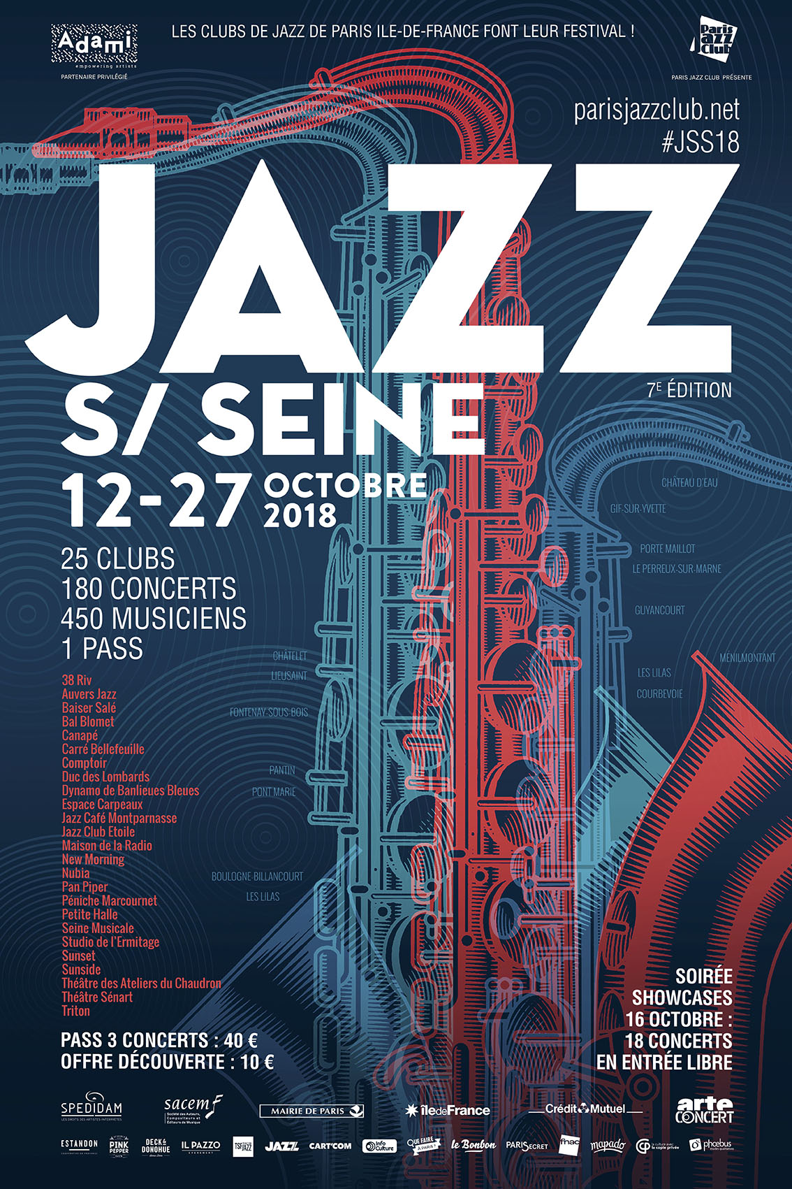 festival Jazz sur Seine, Paris, Ile-de-France, Club, Jazz, Music, Bar, Showcases, Ateliers, Masterclasses