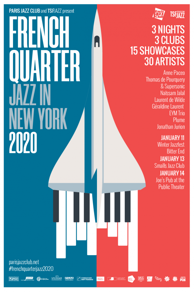 French Quarter, Jazz in NYC  2020