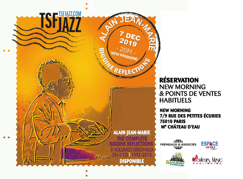 Alain Jean Marie, Pianiste, Légende, Guadeloupe, Jazz, New Morning,